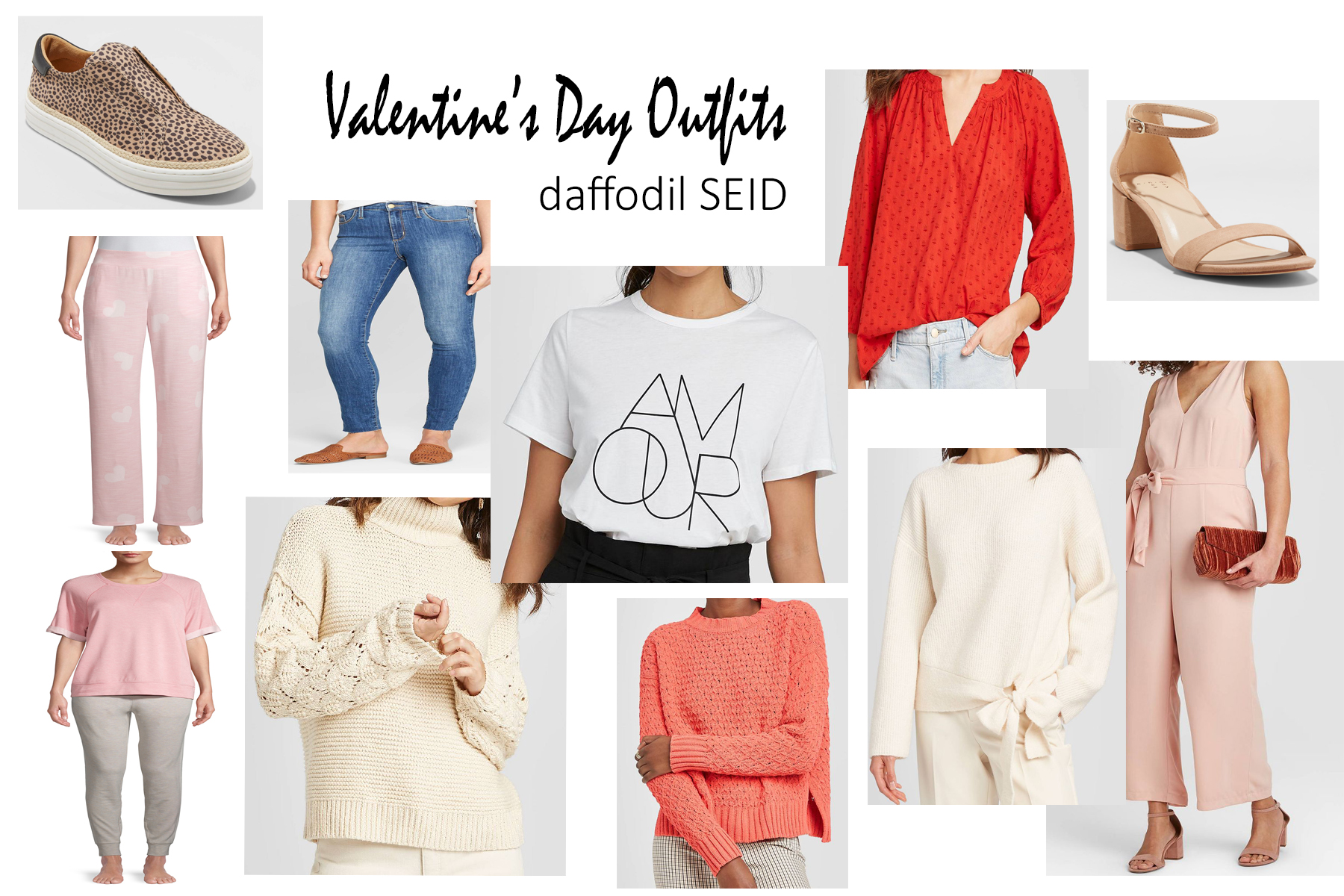 daffodilseid - Valentine's Day Outfit collage