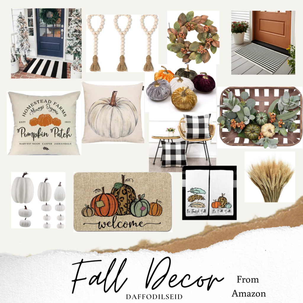 Amazon fall decor