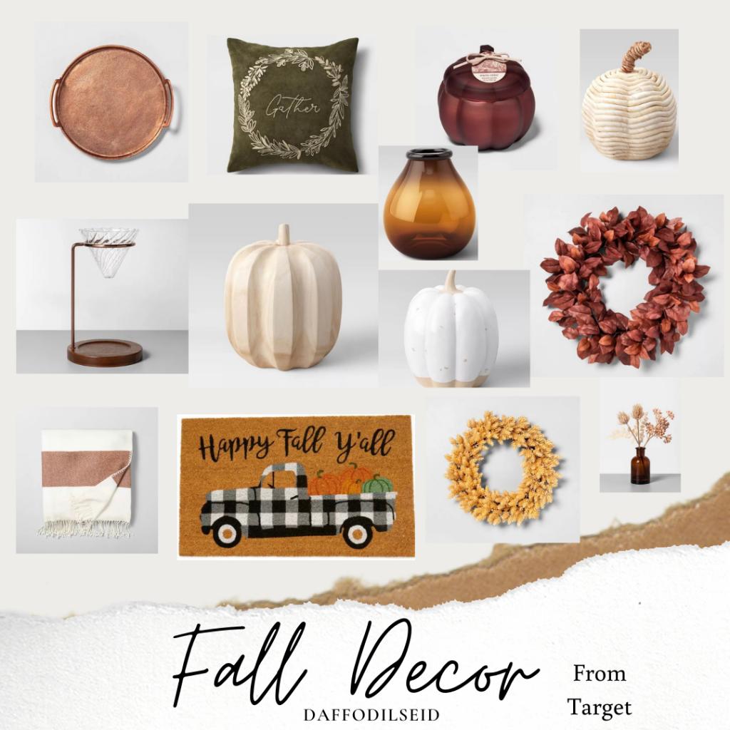 Target Fall decor