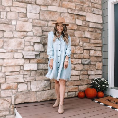 12 Ways to Wear a Chambray Dress