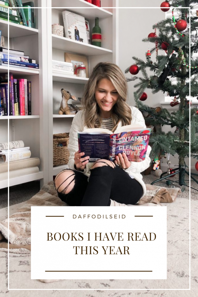 Books I have read this year pin