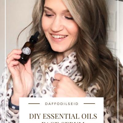 DIY Essential Oils Face Serum