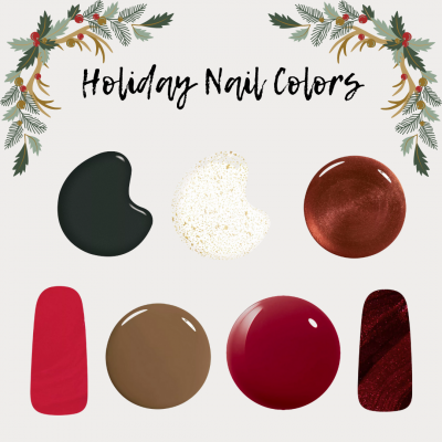7 Holiday Nail Colors to Try